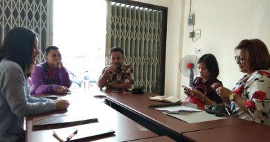 Rapat persiapan Pameran Perumahan Rakyat 2018 antara pihak REI Papua Barat dan EO Papua Paradise, Rabu (25/1).