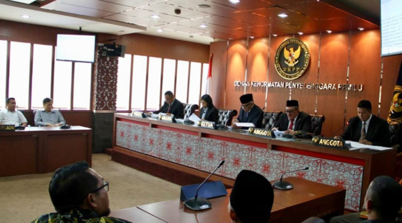 DKPP Gelar Sidang Pemeriksaan Dua Perkara di Papua Barat