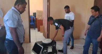 Polisi Amankan Pelaku Pencuri Komputer di Unipa