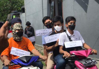 Rekonstruksi Kasus Pembunuhan DW dan HS di Manokwari Berjalan Kondusif