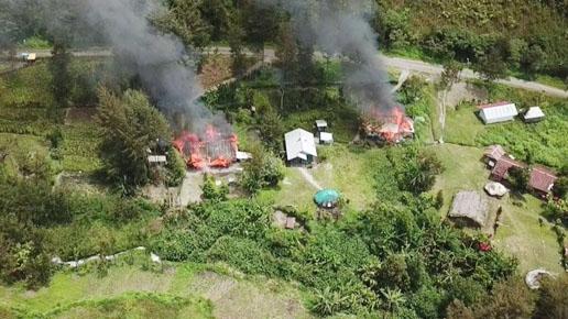 Teror di Kabupaten Puncak Berlanjut