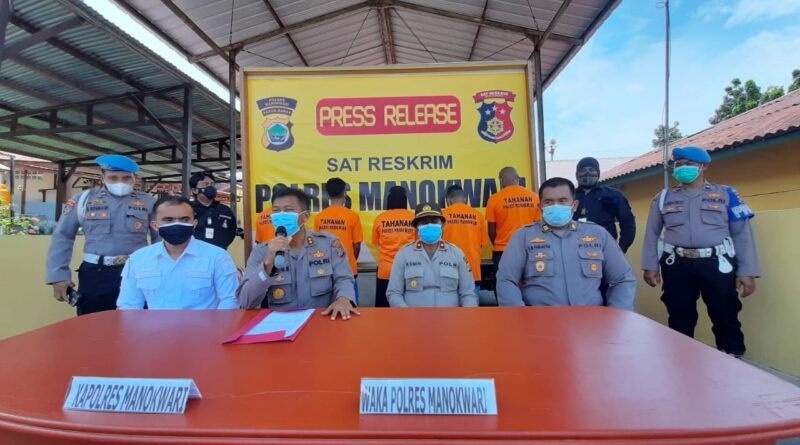 Polres Manokwari Bongkar Modus Penggelapan 11 Unit Mobil